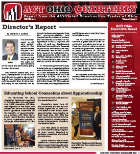 December 2016 ACT Ohio Quarterly Newsletter