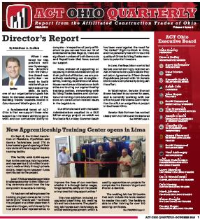October 2016 ACT Ohio Quarterly Newsletter