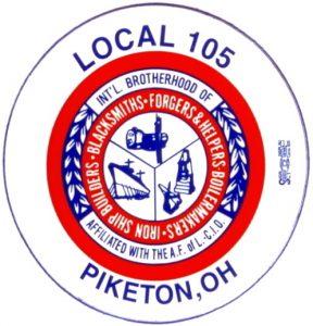 Boilermakers Local 105 Piketon