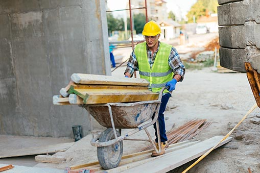 construction laborers work on almost all construction sites performing a wide variety of construction related activities during all phases of construction